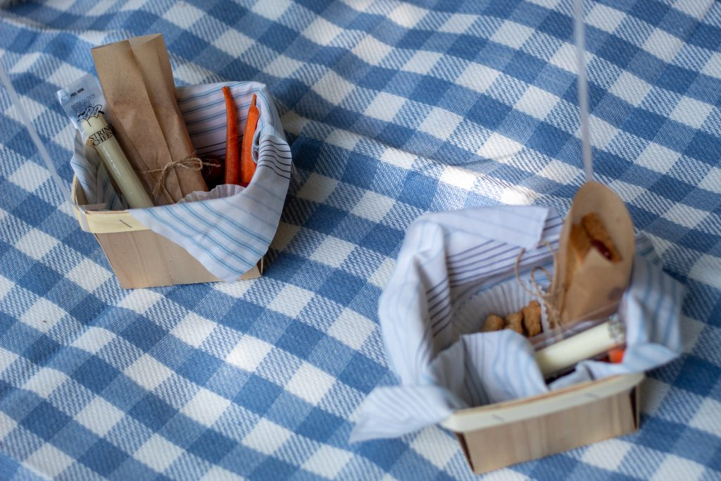 teddy bear picnic baskets for kids