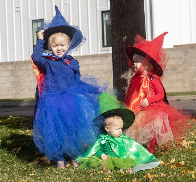 the three goodfairies halloween costume