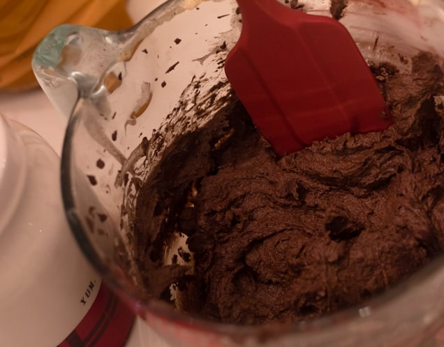 chocolate peppermint cookie dough